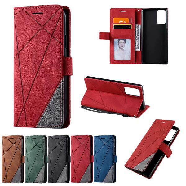 三星 Note20 S20+ S20 Ultra Note10 Lite Note10+ S10 S10+ 菱形壓紋皮套