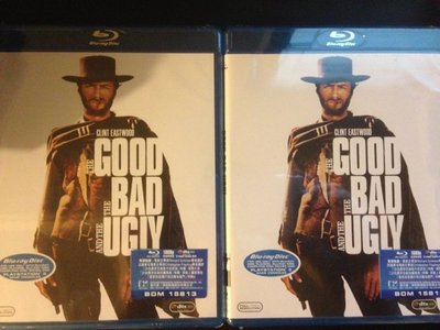 (全新未拆封)黃昏三鏢客 The Good , The Bad and the Ugly 藍光BD(得利公司貨)限量特價