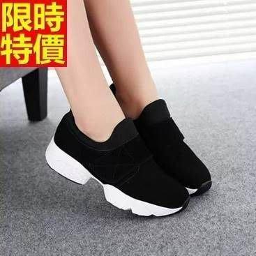 運動鞋 女休閒鞋-修飾腿型完美曲線女鞋子2色66l43[獨家進口][米蘭精品]