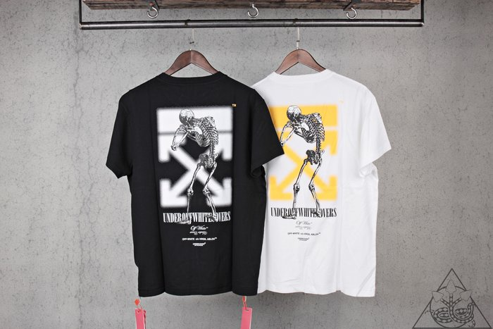 【HYDRA】Off White Undercover Tee 骷髏 短T【OMAA061G198770101088】