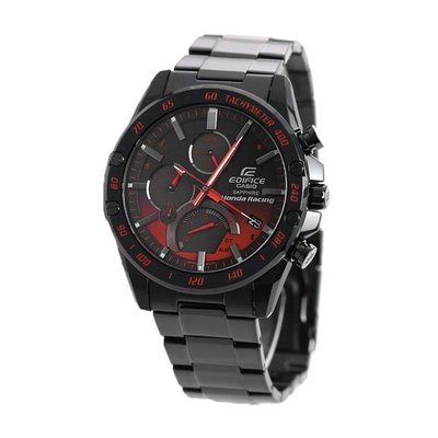CASIO EDIFICE series x Honda Racing EQB-1000HR-1A Tough Solar Bluetooth 藍寶石玻璃