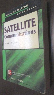 【92515】《SATELLITE COMMUNICATIONS 3/E》書側上/下有寫英文名,內頁少有劃線或註記│Mc