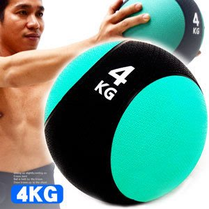【推薦+】MEDICINE BALL橡膠4KG藥球(4公斤彈力球韻律球.抗力球重力球.健身球訓練球)C109-2204