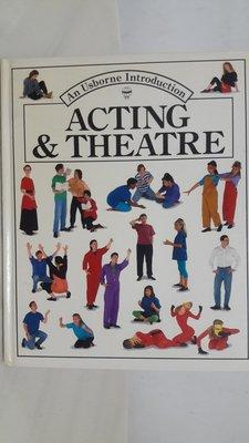 【月界二手書店】Acting & Theatre_An Usborne Introduction_英文〖少年童書〗AAS