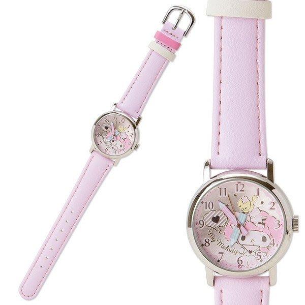 代購現貨 日本三麗鷗鉛筆美樂蒂 手錶