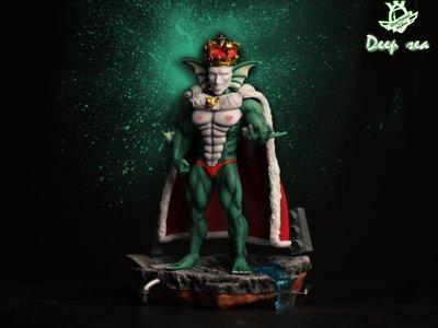 精品手辦【怡紅】Warhead 怪人系列 深海王 一拳超人GK 限量手辦模型