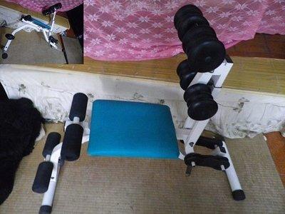 (二次元小舖 Y5520175018)二手健身 仰後起座 背部按摩健身椅