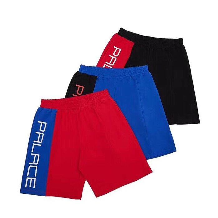 全新商品 Palace Skateboards 18SS Shorts 短褲 休閒褲 黑色 藍色 紅色