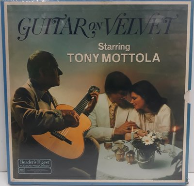 GUITAR ON VELVET STARRING TONY MOTTOLA 黑膠 全新外膜有破 再生工場1 03
