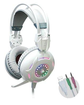 附發票【鼎立資訊 】A4 BLOODY G300 立體聲遊戲耳麥 電競耳機麥克風 台中市