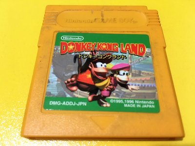 幸運小兔 GB遊戲 GB 大金剛樂園 DONKEY KONG LAND 任天堂 GameBoy GBC、GBA 膠盒小庫