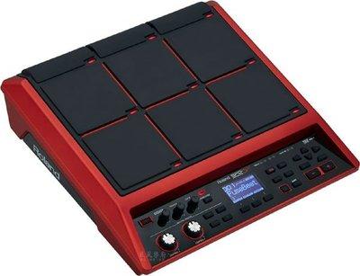 《民風樂府》Roland SPD-SX SE 電子鼓打擊板 紅色限量版  加贈攜行袋