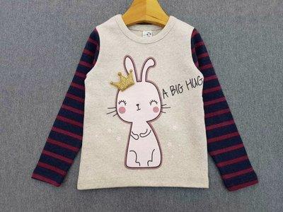 韓國牛奶家兔子長袖上衣