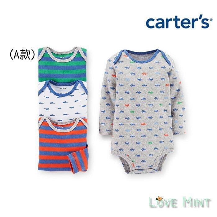 *Love Mint*~【carter's】全新正品 Baby長袖連身包屁衣 A款 18-24m /非gap,h&m