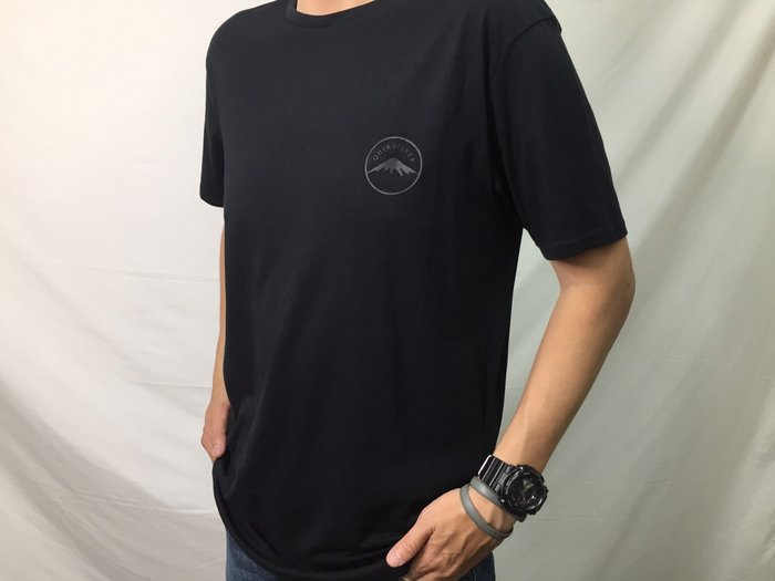 [阿菊潮流工作室]Quiksilver Black Quik And Co T-Shirt M號 [免運費]
