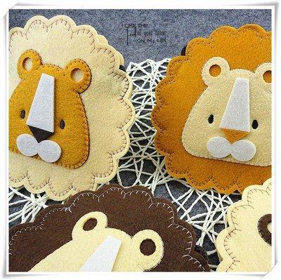 韓國兒童小獅子單肩包布藝包包 不織布包包[佳佳賣場]