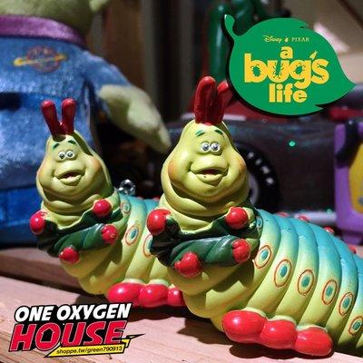 迪士尼 絕版玩具 蟲蟲危機 毛毛蟲 鑰匙圈 公仔 玩具 肥蟲蟲 吊飾