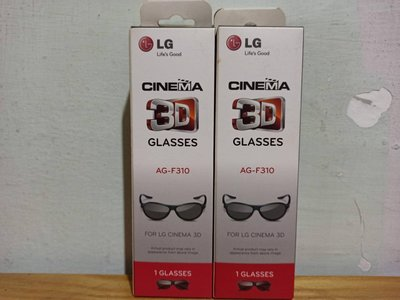 (商品出清價)LG 樂金 偏光式 3D眼鏡 3D Glasses AG-F310 高雄市