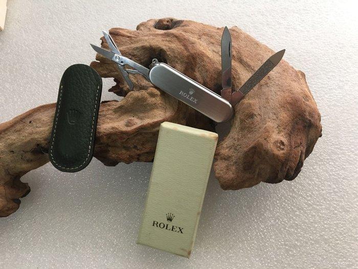 勞力 Rolex 口袋刀 未使用(不含輔助展示木)