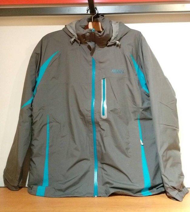 歐都納 男款 5折 GORETEX 男防水外套 登山外套 內裏羽絨外套 兩件式外套 尺寸: