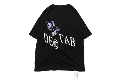 "[ LAB Taipei ] DeMarcoLab ""IN VISIBLE NOISE TEE"" (Black)"