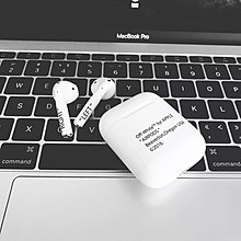 Off white airpods