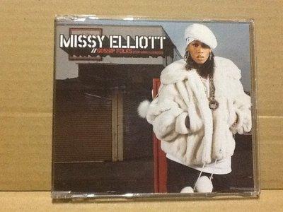 ~拉奇音樂~蜜西艾莉特 MISSY ELLIOTT  GOSSIP FOLKS 二手保存良好片況新。嘻哈 饒舌。