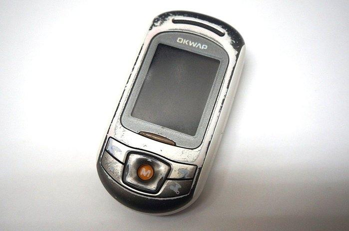 ☆手機寶藏點☆ OKWAP A323 手機《附電池+全新旅充或萬用充》所有功能正常 pp152