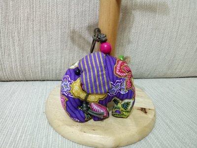 天使熊雜貨小舖~泰國花布大象吊飾  全...