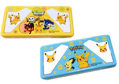 【卡漫迷】 寶可夢 單層 書架 鉛筆盒 二選一 ㊣版 鉛筆盒 Pokemon 神奇寶貝 皮卡丘 文具盒 精靈