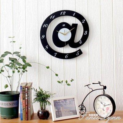 兒童臥室卡通創意掛鐘客廳掛錶裝飾鐘錶個性石英壁鐘時尚靜音時鐘 HM    全館免運