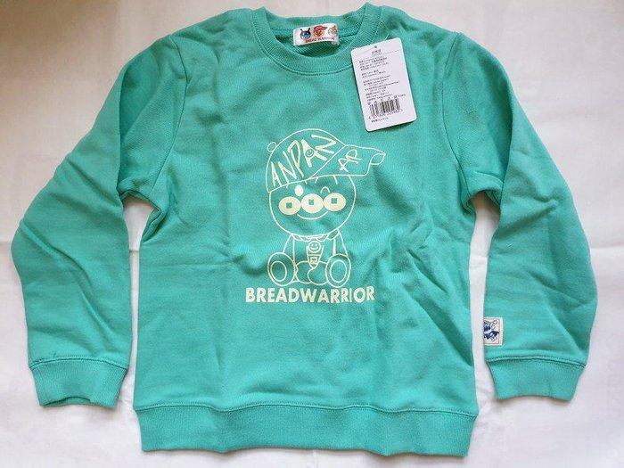 麵包超人 長袖套頭衫 綠色
