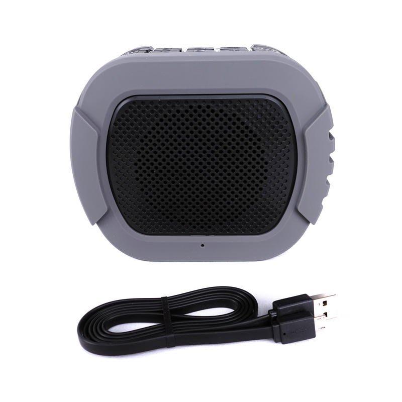 格律樂器 iCreation BT-143 黑灰色 IPX7等級 防水藍芽 立體環繞音響 藍芽喇叭