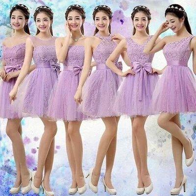 天使佳人婚紗禮服~~~~~~多款蕾絲伴娘小禮服