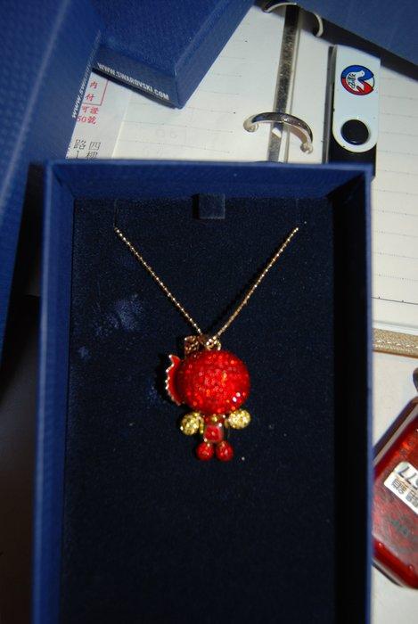 SWAROVSKI 施華洛世奇 超可愛水晶項鍊 原價一萬多