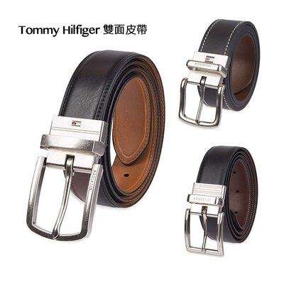 Tommy Hilfiger Mens Reversible Belt 翻轉皮帶 保證正品 美國空運【L39】
