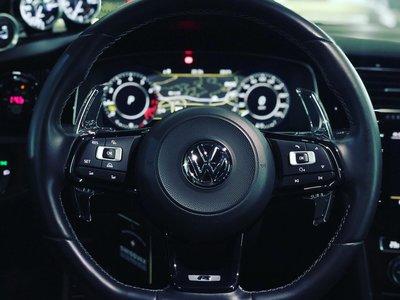 LEYO PD Paddle 換檔 撥片 VW 福斯 Golf MK7 GTI / R 專用 透明 PGT002