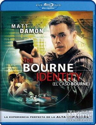 【藍光電影】伯恩的身份1/諜影重重1 The Bourne Identity 12-036