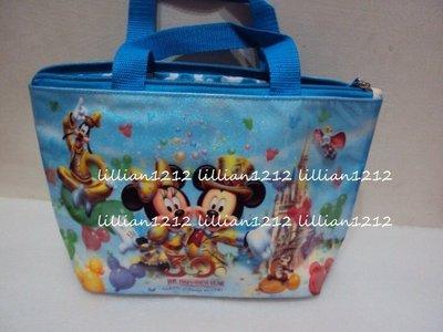 日本30週年京迪士尼disney限定 米奇米妮便當袋手提袋