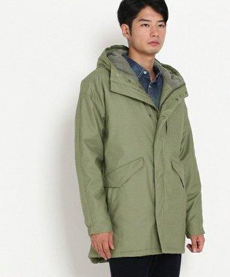 Cover Taiwan 官方直營 連帽外套 長版 日系 風衣 大衣 軍裝 余文樂 M51 M65 軍綠色 (預購) 台北市