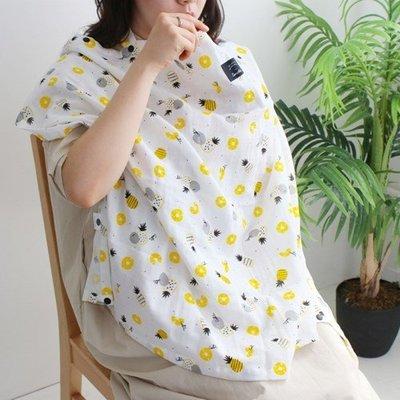 Ξ ATTIC Ξ 韓國conitale~ Nursing Cover 多功能哺乳巾推車罩背巾披風~ Pineapple