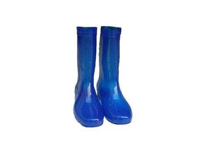 朝日牌女用雨鞋(藍色) 特製耐力膠-台灣製造-耐磨-好穿-批發價【小潔大批發】
