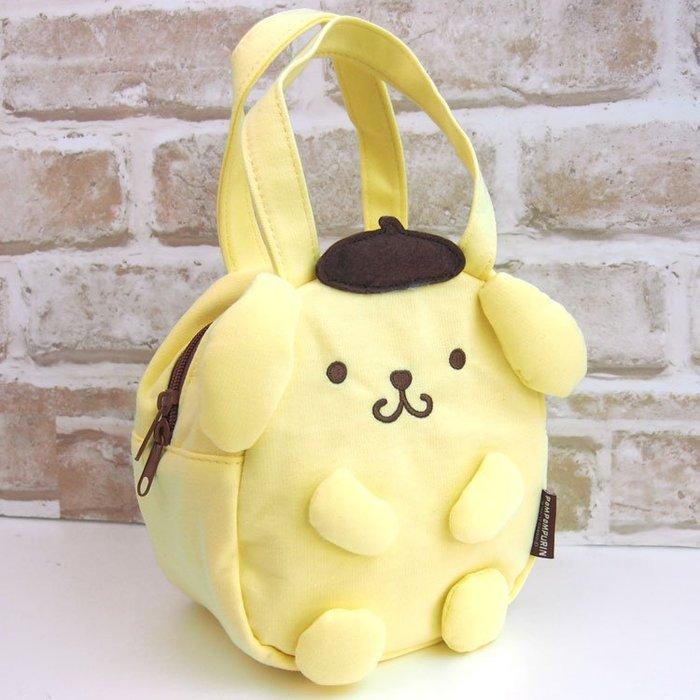 布丁狗 餐袋 造型手提包 卡通提袋收納袋包 小日尼三 現貨免運費 41+ 日本代購