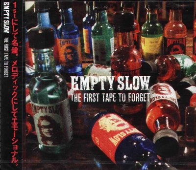 K - EMPTY SLOW - The First Tape To Forget - 日版 - NEW
