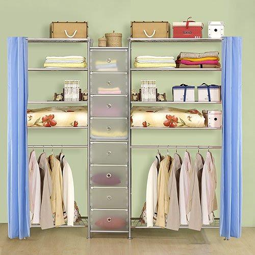 【中華批發網DIY家具】D-62D-02-W5型60+pp+W5型90衣櫥置物櫃-(前罩)不織布