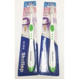 *小倩小舖* 超便宜品牌牙刷 刷樂雙效纖柔牙刷 軟毛牙刷 護齦 潔淨 24支免運 台北市