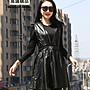 優質頭層綿羊皮大襬裙 超大尺碼真皮背心連衣裙 2XL~5XL# 特價販售 零碼出清