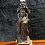 『華山堂』精緻 日本 京都紫銅雕古文物 老件收藏 龍王菩薩  掌握一切財富 龍神 龍王寶瓶 善女龍王像