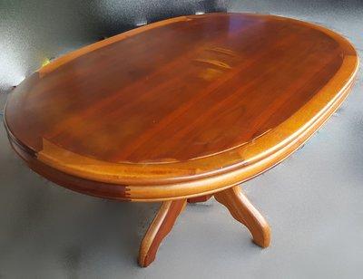 宏品二手家具館~中古家具 家電 K50408木頭色餐桌*咖啡桌/會議桌/洽談桌/中古 書桌椅 會議桌椅 辦公桌椅