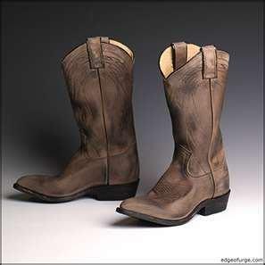 Frye Billy Pull On-西部中長靴-舊灰色-現貨SZ6  8000含國際運費!商品在台